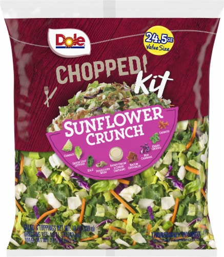 Dole Chopped Sunflower Crunch Salad Kit Value Size Perspective: front