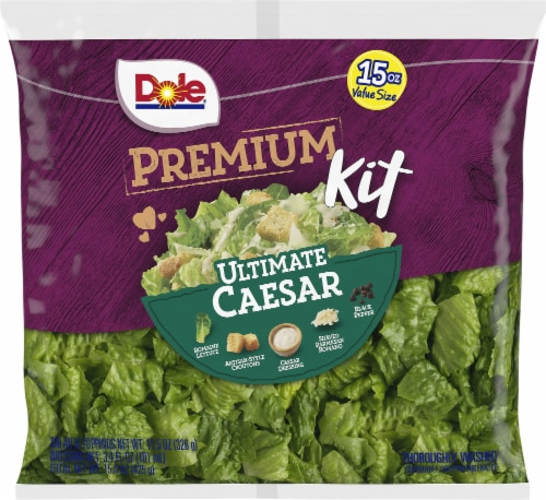 Dole Ultimate Family Size Caesar Salad Kit Perspective: front