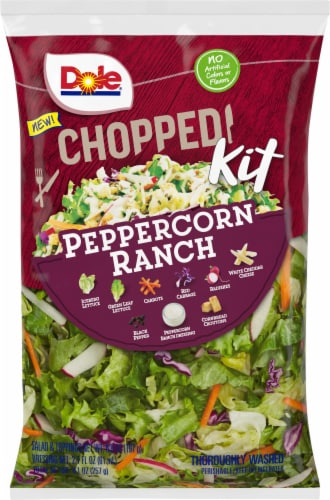 Dole Chopped Peppercorn Ranch Salad Kit Perspective: front