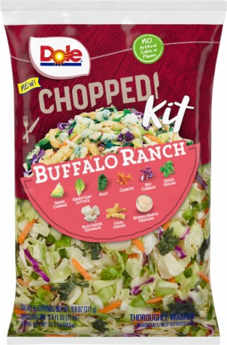 Dole Chopped Buffalo Ranch Salad Kit Perspective: front