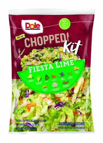 Dole® Fiesta Lime Chopped Salad Kit Perspective: front
