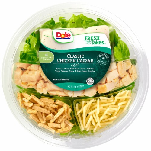 Dole Classic Chicken Caesar Salad Perspective: front