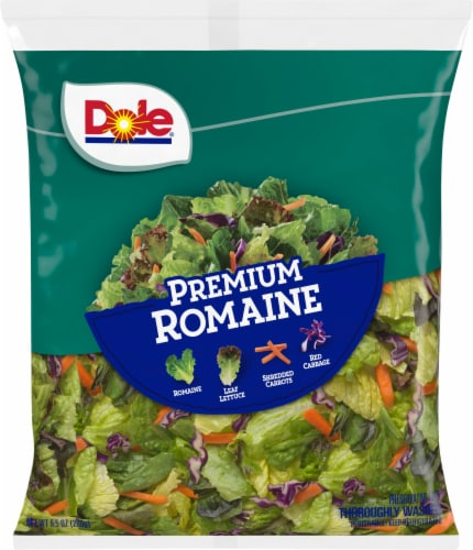 Dole Premium Romaine Salad Mix Perspective: front