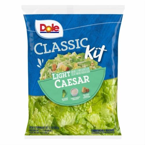 Dole Light Caesar Classic Salad Kit Perspective: front