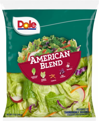 Dole American Blend Salad Perspective: front