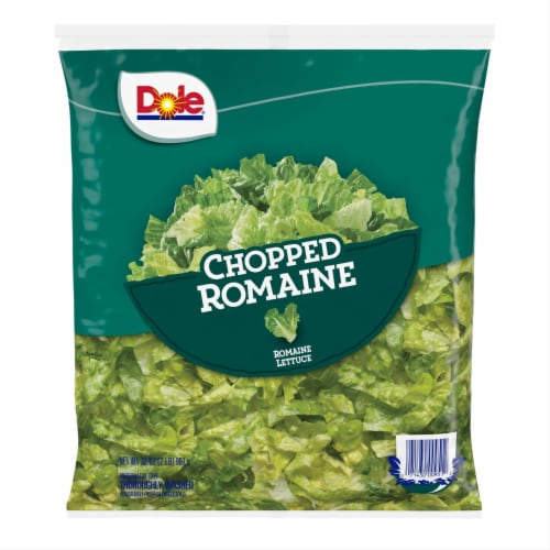 Dole Chopped Romaine Lettuce Perspective: front