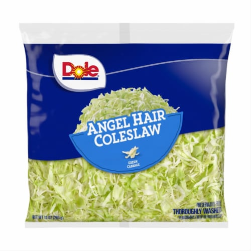 Dole Angel Hair Coleslaw Perspective: front
