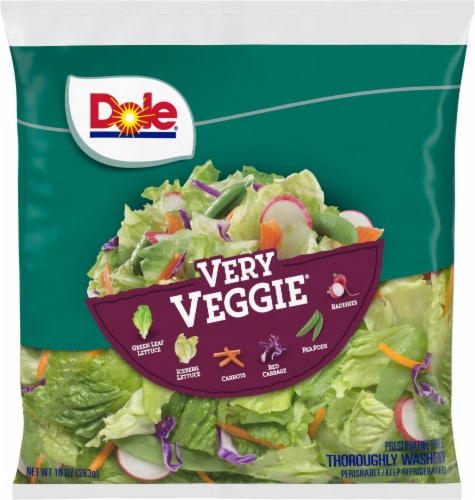 Dole Very Veggie Salad Mx Perspective: front