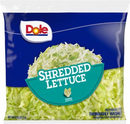 Dole Shredded Lettuce Perspective: front