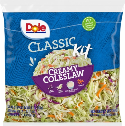 Dole® Creamy Coleslaw Classic Kit Perspective: front