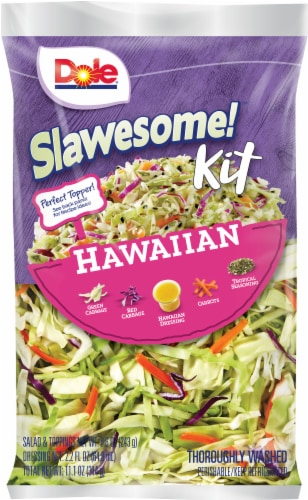Dole Slawesome Hawaiian Salad Kit Perspective: front