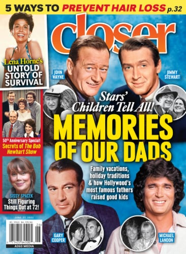 Closer Magazine Perspective: front