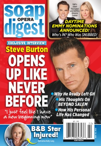 Soap Opera Digest Magazine Perspective: front