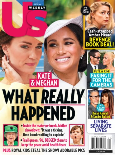 Us Weekly Magazine Perspective: front