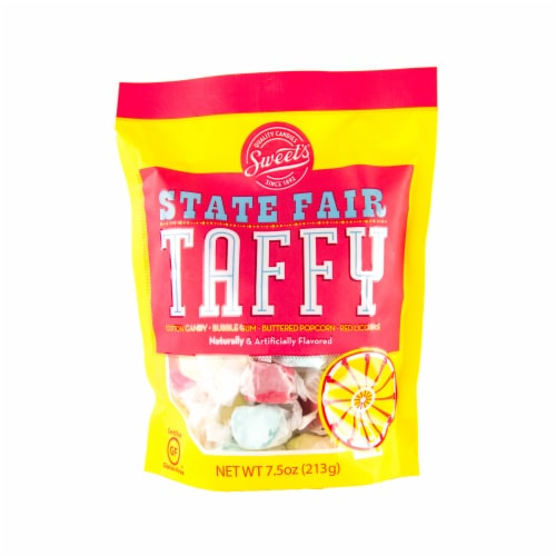 Sweets State Fair Taffy Variety Pack Perspective: front