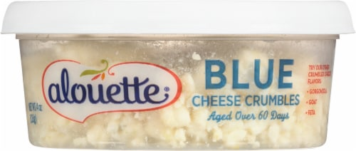 Alouette Crumbled Blue Cheese Perspective: front