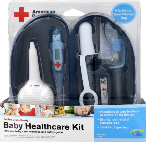 The First Years First Baby Healthcare Kit Perspective: front
