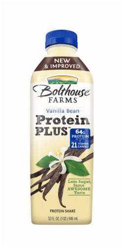 Bolthouse Farms Vanilla Bean Protein Plus Shake Perspective: front