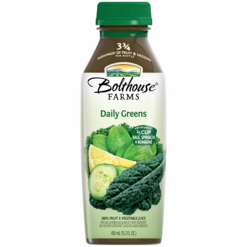 Bolthouse Farms Daily Greens Juice Perspective: front