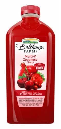Bolthouse Farms Multi-V Goodness Fruit Juice Smoothie Perspective: front