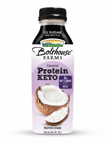 Bolthouse Farms Keto Coconut Protein Shake Perspective: front