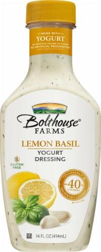 Bolthouse Farms Lemon Basil Yogurt Dressing Perspective: front