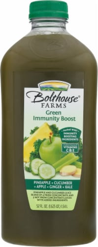 Bolthouse® Green Immunity Fruit and Veggie Juice Blend Perspective: front