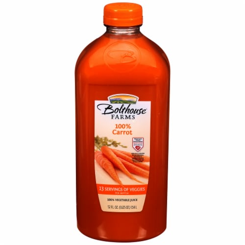 Bolthouse Farms 100% Carrot Juice Perspective: front