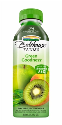 Bolthouse Farms Green Goodness Fruit Juice Smoothe Perspective: front