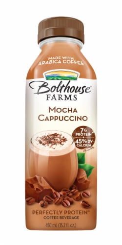 Bolthouse Farms Mocha Cappucino Protein Coffee Beverage Perspective: front
