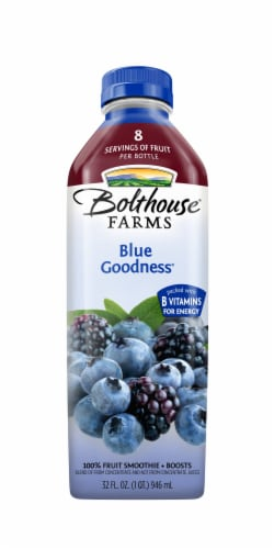 Bolthouse Farms Blue Goodness Fruit Juice Smoothie Perspective: front