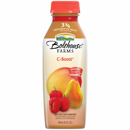 Bolthouse Farms C-Boost Fruit Juice Smoothie Perspective: front