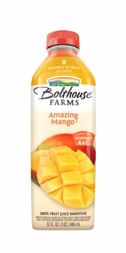 Bolthouse Farms Amazing Mango Juice Perspective: front