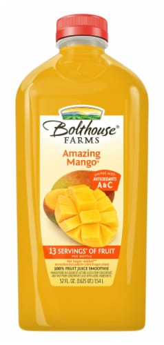 Bolthouse Farms Amazing Mango Fruit Juice Smoothie Perspective: front