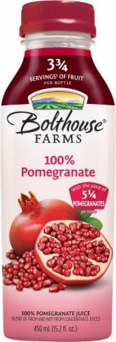 Bolthouse Farms 100% Pomegranate Juice Perspective: front