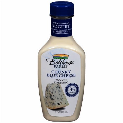 Bolthouse Farms Chunky Blue Cheese Yogurt Salad Dressing Perspective: front