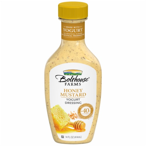 Bolthouse Farms® Honey Mustard Yogurt Dressing Perspective: front