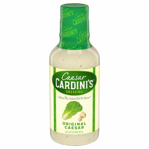 Cardini's Original Caesar Salad Dressing Perspective: front