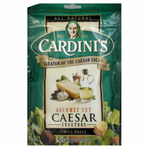 Cardini's Caesar Croutons Perspective: front