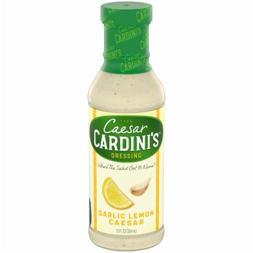Cardini's Garlic Lemon Caesar Dressing Perspective: front