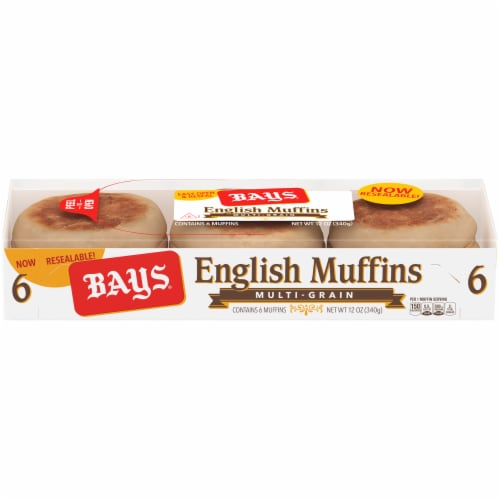 Bays Multi-Grain English Muffins Perspective: front