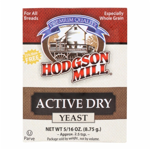 Hodgson Mill Active Dry Yeast Perspective: front