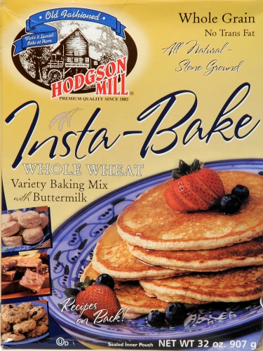 Hodgson Mill Insta-Bake Whole Wheat Variety Baking Mix with Buttermilk Perspective: front