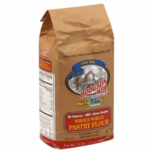 Hodgson Mill Whole Wheat Pastry Flour Perspective: front