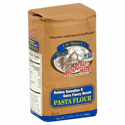 Hodgson Mill Pasta Flour Perspective: front