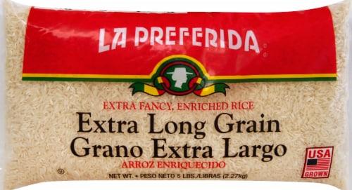 La Preferida Extra Long Grain Rice Perspective: front
