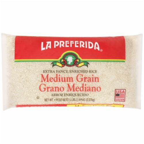 La Preferida Medium Grain Rice Perspective: front