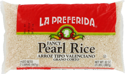 La Preferida Fancy Pearl Rice Perspective: front