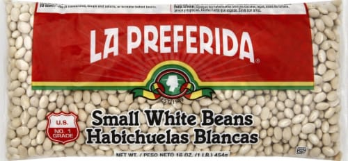 La Preferida Small White Beans Perspective: front