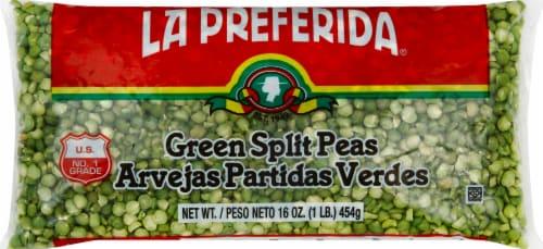 La Preferida Green Split Peas Perspective: front